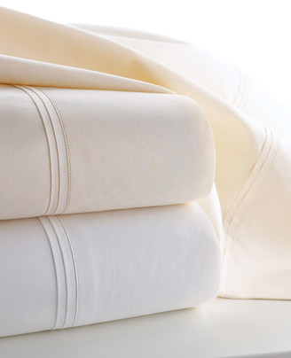 Matouk Marcus Collection Queen 600 Thread Count Solid Percale Sheet Set