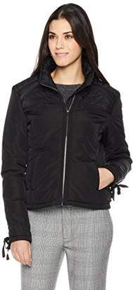 The Portland Plaid Co. Women's Short Lightweight Quilted Jacket