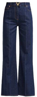 Valentino High Rise Jeans - Womens - Denim