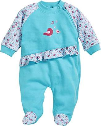 Playshoes Baby Girls' Schlafoverall Vögelchen Sleepsuit,(Size: 74)