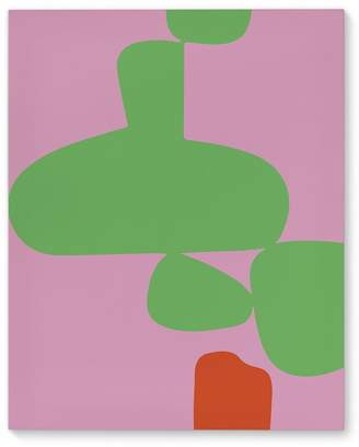 Victoria's Secret Kavka 'Angenault Pink Green' Graphic Art Print on Canvas