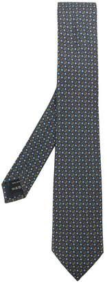 Ermenegildo Zegna graphic printed tie