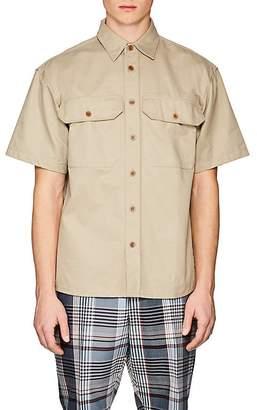 Gosha Rubchinskiy Men's Cotton Twill Shirt