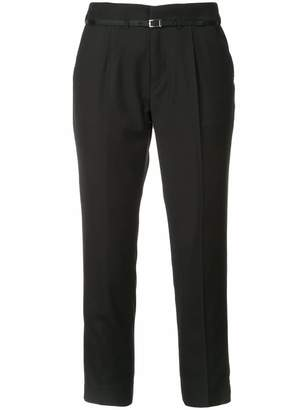 GUILD PRIME cropped tailored trousers