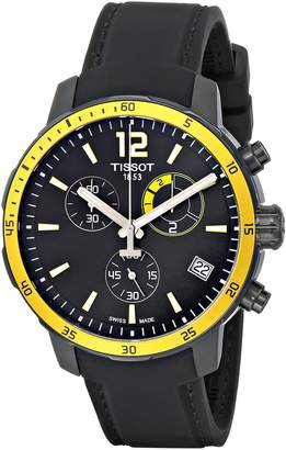 Tissot Men's T0954493705700 Quickster Analog Display Swiss Quartz Watch