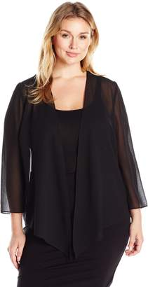 Alex Evenings Women's Plus-Size Wraps, Shawls, Cover Ups, and Evening Jackets