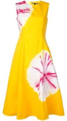 Calvin Klein Tie Dye Midi Dress
