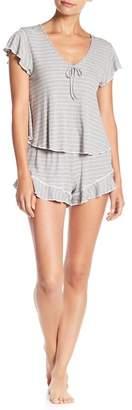 Nordstrom Room Service Stripe Short Pajamas Exclusive)