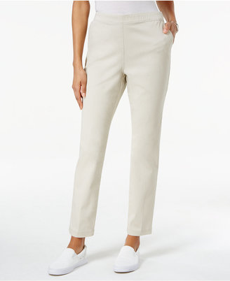 Karen Scott Pull-On Pants, Only at Macy's $44.50 thestylecure.com