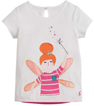 Joules Maggie Ladybug Applique Tee, Size 2-6