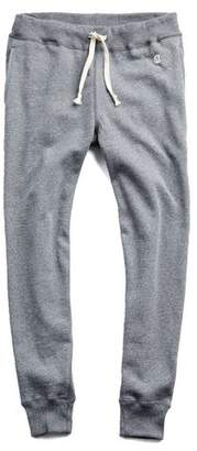 Todd Snyder + Champion Slim Jogger Sweatpant in Salt and Pepper