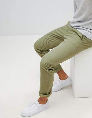 Selected regular fit chinos
