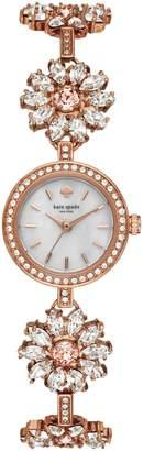 Kate Spade Daisy Chain Crystal Watch, 20mm