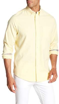 Tailor Vintage Oxford Long Sleeve Stretch Fit Shirt
