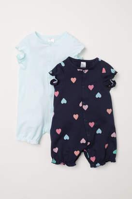 H&M 2-pack Pajamas - Blue