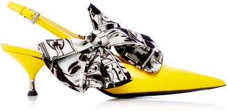 Prada Exclusive: Bow Slingback