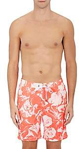Onia MEN'S CHARLES SWIM TRUNKS-WHITE SIZE XXL