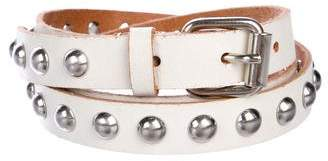 Hache Studded Leather Belt