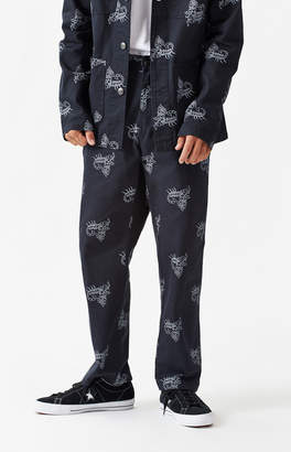 Obey Hard Work Printed Labor Pants