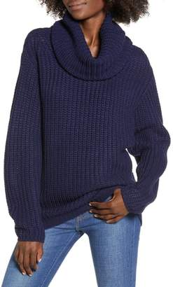Leith Oversize Turtleneck Sweater