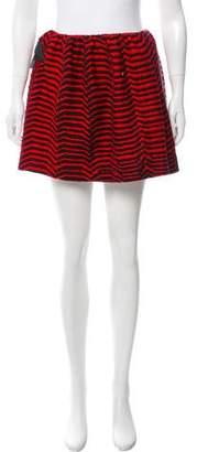 Bernhard Willhelm Knit Mini Skirt