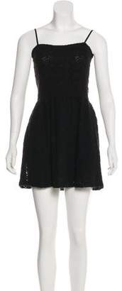Band Of Outsiders Knit Mini Dress