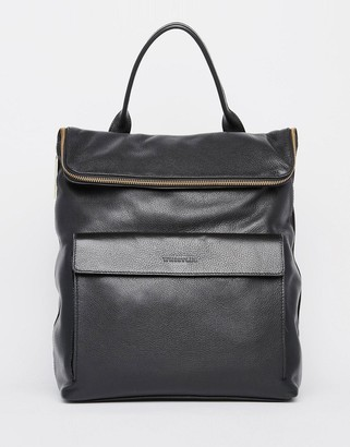 Whistles Leather Verity Backpack $443 thestylecure.com