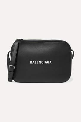 Balenciaga Everyday S Aj Printed Textured-leather Camera Bag