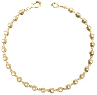 Diana Mitchell Gold Nugget Link Bracelet - Yellow Gold