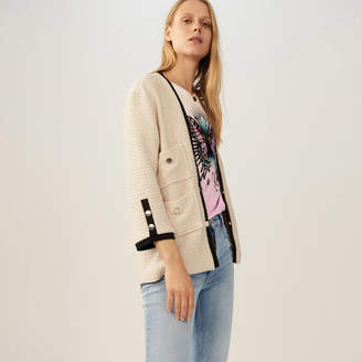 Maje Oversized tweed jacket