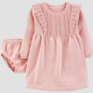 Carter's Just One You made by carter Baby Girls' Sweater Dress - Just One You® made by Peach