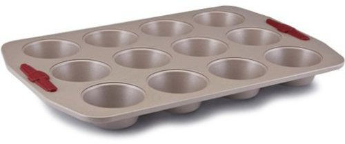Paula Deen 12-c. Nonstick Signature Bakeware Muffin Pan, Champagne