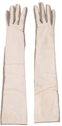Brunello Cucinelli Ponyhair Long Gloves w/ Tags