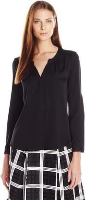 Milly Women's Tessa Long Sleeve Blouse