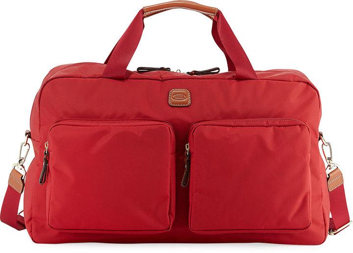 Bric'sBric's X-Travel Boarding Duffle Bag, Red