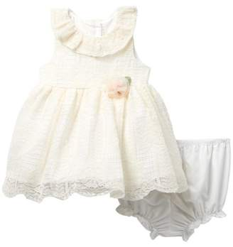 Laura Ashley Lace Sundress (Baby Girls 0-3M)