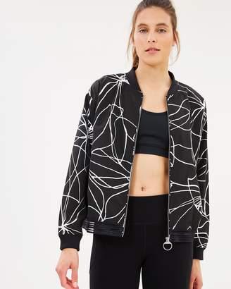 DKNY Shadow Foil Print Jacket