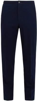 Ermenegildo Zegna Mid-rise cotton trousers