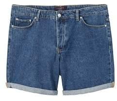 Violeta BY MANGO Medium denim shorts