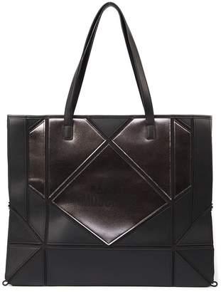bdf43bcbcab14 Love Moschino Gray Faux Leather Handbags - ShopStyle