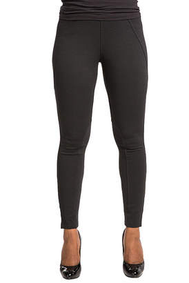 POETIC JUSTICE Poetic Justice Ponte Moto Style Pieced Pull On Pant