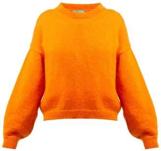 MiH Jeans Jackson Mohair Blend Sweater - Womens - Orange