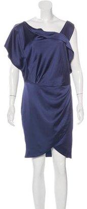Reiss Satin Knee-Length Dress $75 thestylecure.com