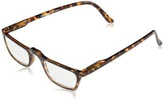 Peepers Men's Tortoise S/H Frm Rectangular Reading Glasses
