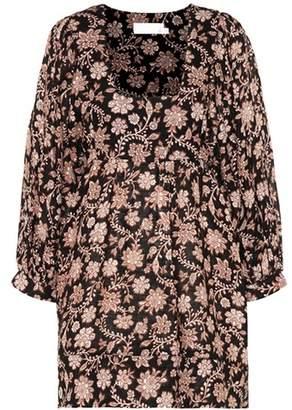 Zimmermann Tulsi floral linen dress