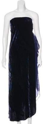Ralph Lauren Velvet Evening Dress