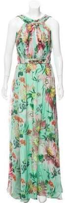 Matthew Williamson Sleeveless Silk Maxi Dress