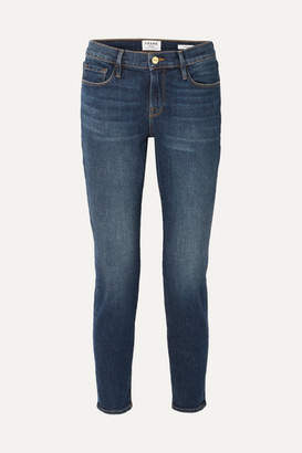 Frame Le Garcon Slim Boyfriend Jeans - Dark denim