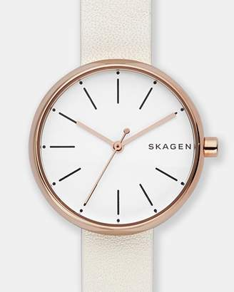 Skagen Signature White Analogue Watch