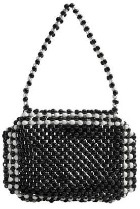 MANGO Bicolor beaded bag